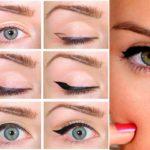 Как нарисовать красивые стрелки на глазах?
