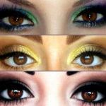 Каким должен быть вечерний макияж для карих глаз?